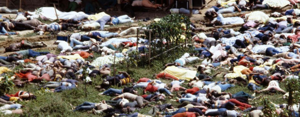 Documentario sul massacro di Jonestown