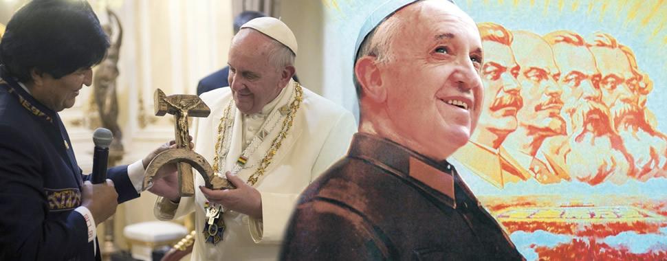 Risultati immagini per Bergoglio leader maximo